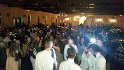 Dance floor is hopping @ Crystal Springs