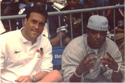 Rob G and Bad Boy recording artist Mase.