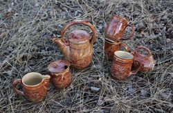 Rustic Tea Set