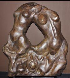 2 torses féminin de Charles Delportes