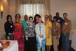 VITFriends board with our guest - Dr. Harris