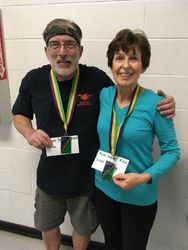 Tony Caro and Linda Thomas