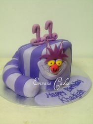 Alice in Wonderland Themed Cake (B014)