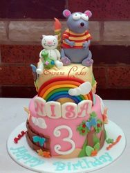 Toopy and Binoo Cake (B201)