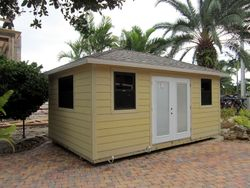 12x20 Home office / Workshop ( hardie Plank )