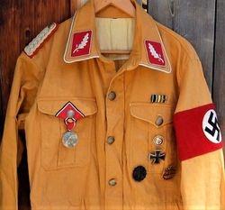 SA Oberfuhrer Oberst SA-Fuhrung Shirt: