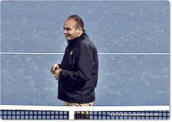 Chair Umpire Ahmed Abdel-Azim