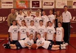 2008 OCEAA Girls All-Star Team