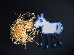 Heijastava Heppa, Reflective horse