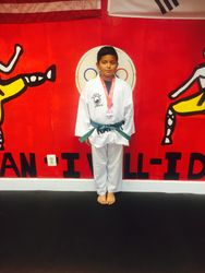 July 4-10-2015 USAT National  Championships Austin Texas  Jean Peter Espejo  3rd Place Sparring