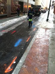 street marking off market
