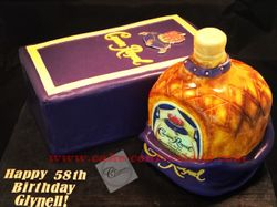 Crown Royal Cake and Box