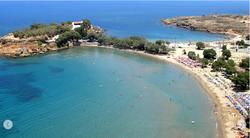 Agii Apostoli double beach