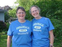 Deb White and Stephanie Maxwell McAdam
