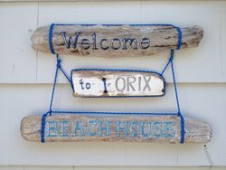 Beach House Name sign