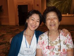 Roseann Liu and Miyoko Shimoda