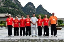 Master Wang Hai Jun & group