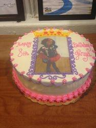 Princess Picture Cake