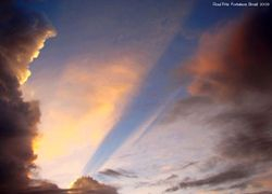 Incredible sunset sky 1