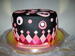 CAKE 10A2- Polka Dot Delight