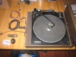 CURTIS MATHES CONSOLE TURNTABLE HAS BEEN FULLY RESTORED