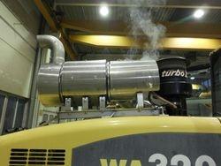 Komatsu WA320 Brennersystem
