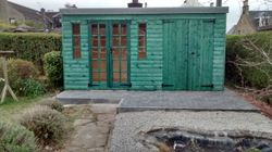 Garden Summer House Pent (14' x 8')