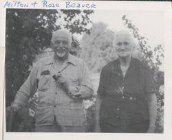 Milton Shoup and Rosamond (Gary) Beaver