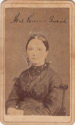 Mrs. Nannie Burick of Navasota, TX