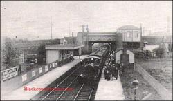 Darlaston Station.