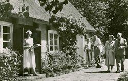 Flickorna Lundgren i Skaret 1966