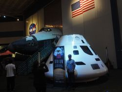 Orion, to get a man on Mars...the latest project for NASA.