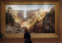 Moran, Grand Canyon of Yellowstone, 1872, Smithsonian
