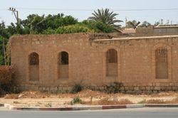 Some of the original walls of Beersheba