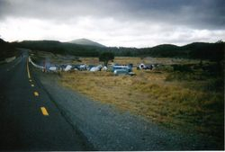 2002 Camping on both sides of the highway