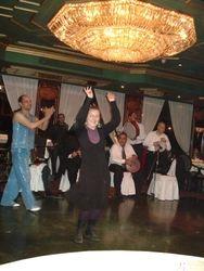 Joanna, dancing at Nile Maxim