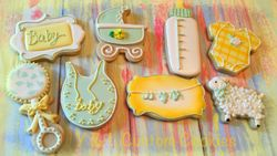 Baby Shower Custom Cookies
