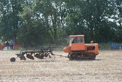 Track Marshall Crawler & trailer plough