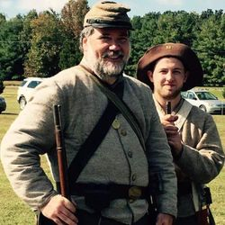 A couple of Confederates . . .