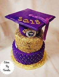 Lemoyne Owen Graduaion Cake