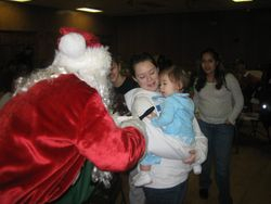 Olivia Meets Santa