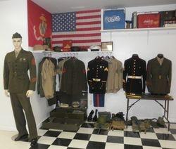 Tom Bothwell's military display