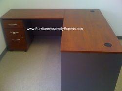 office depot Sauder desk assembly service in Arlington VA