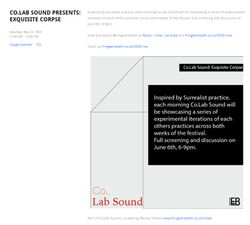 Fringearts Bath: Co.lab Sound (2020)