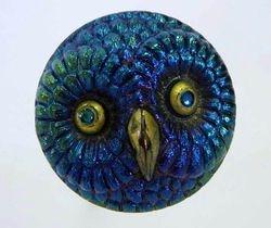 Owl hatpin