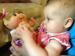 My 1st Cabbage Patch Kid; Soffia!