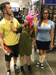 Eugene, Louise, and Tina Belcher