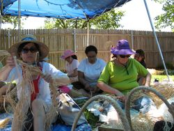 Hot day in the sun making kupeʻe