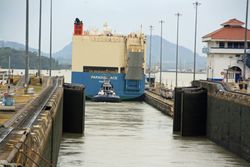 Panama Canal Cruise - through the locks