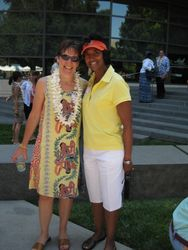 7/20/11 My Oncologist Dr. Laura Johnston & I